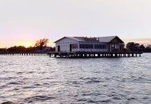 New pier takes shape