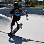 Skate park opens to cheers from local skaters