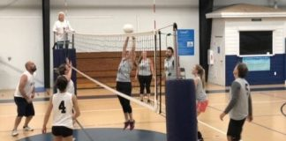 Solid Rock Construction undefeated in volleyball