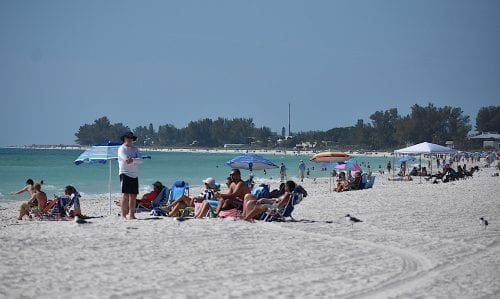 Island beaches 'closed' but still accessible