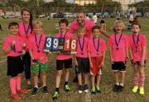 Youth flag football finals names three champions