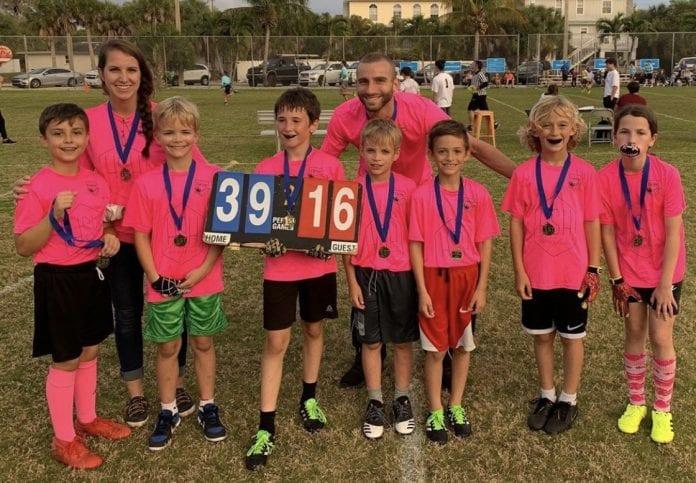 Youth flag football finals names three champions